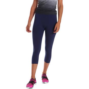 Kleidung Damen Leggings Key Up 5LI23 0001 Blau