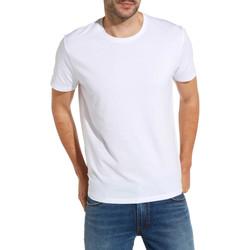 Kleidung Herren T-Shirts Wrangler W7500F Weiß