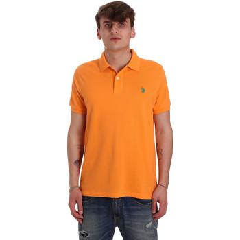 Kleidung Herren Polohemden U.S Polo Assn. 55957 41029 Orange