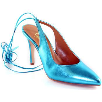 Schuhe Damen Pumps Grace Shoes 038138 Blau
