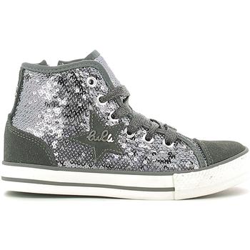 Schuhe Kinder Sneaker High Lulu LV010070T Grau