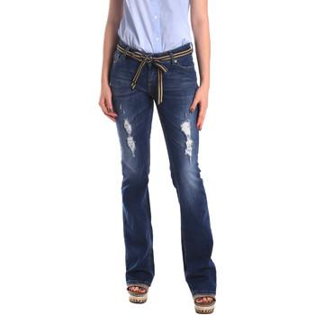 Kleidung Damen Boyfriend Jeans Fornarina BER1I98D834CE Blau