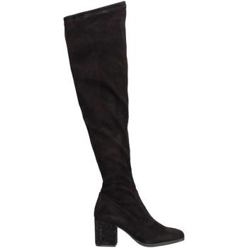 Schuhe Damen Klassische Stiefel Gattinoni PINVK0764W Schwarz