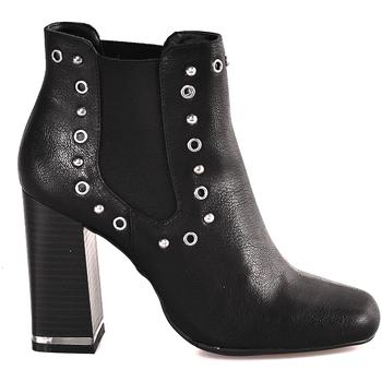 Schuhe Damen Low Boots Gattinoni PINDL0774W Schwarz