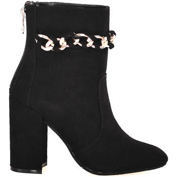 Schuhe Damen Low Boots Gattinoni PINOD0784W Schwarz