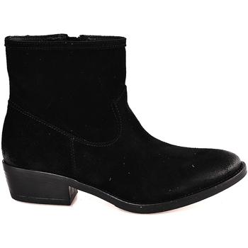 Schuhe Damen Low Boots Mally 5340 Schwarz