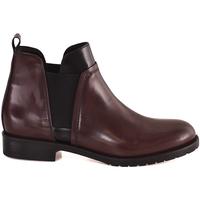 Schuhe Damen Low Boots Mally 5948 Rot