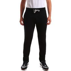Kleidung Herren Jogginghosen Key Up 2F36E 0001 Schwarz