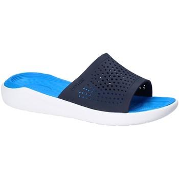 Schuhe Herren Pantoletten Crocs 205183 Blau