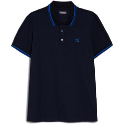 Kleidung Herren Polohemden NeroGiardini E072370U Blau
