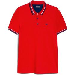 Kleidung Herren Polohemden NeroGiardini E072390U Rot
