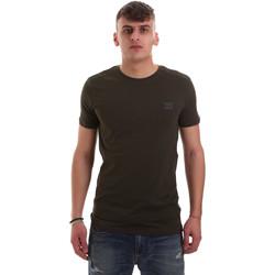 Kleidung Herren T-Shirts Antony Morato MMKS01417 FA120001 Grün