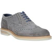Schuhe Herren Richelieu Rogers 9511A Grau