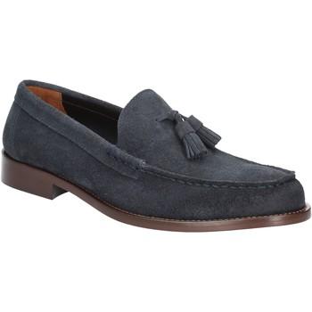 Schuhe Herren Slipper Marco Ferretti 160745 Blau