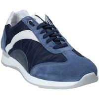 Schuhe Herren Sneaker Low Exton 661 Blau