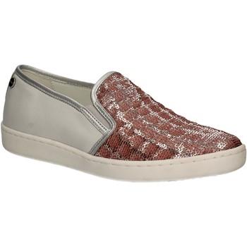 Schuhe Damen Slip on Keys 5051 Rosa