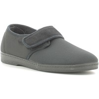 Schuhe Herren Hausschuhe Susimoda 5605 Schwarz