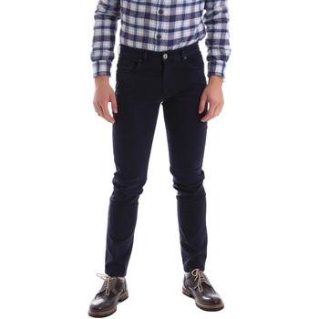 Kleidung Herren 5-Pocket-Hosen Sei3sei 02396 Blau
