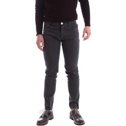 Kleidung Herren 5-Pocket-Hosen Sei3sei 02396 Grau