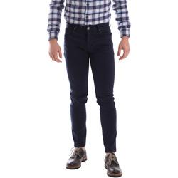 Kleidung Herren 5-Pocket-Hosen Sei3sei 02696 Blau