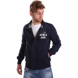 Kleidung Herren Jacken Key Up FGS7 0001 Blau