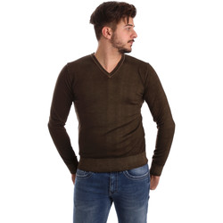 Kleidung Herren Pullover Wool&co WO0002 Braun