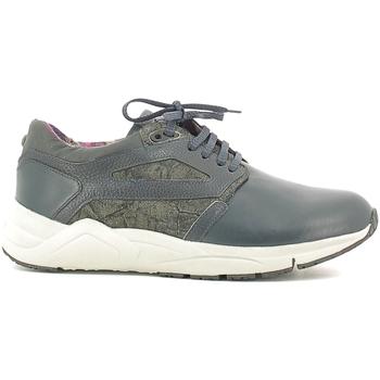 Schuhe Herren Sneaker Low Alberto Guardiani SU73452D Blau