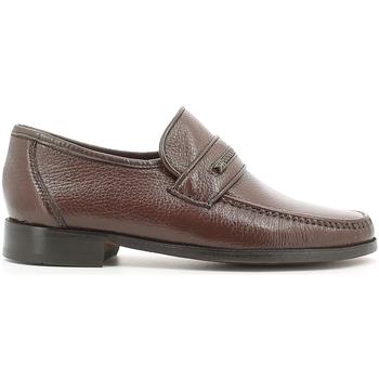 Schuhe Herren Slipper Fontana 1934 CE Braun