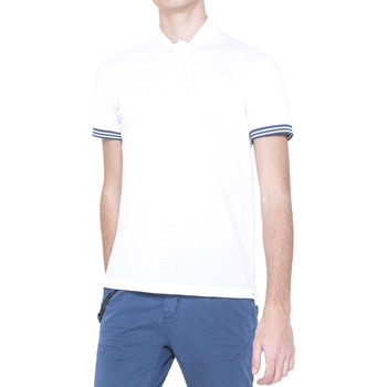 Kleidung Herren Polohemden Antony Morato MMKS00999 FA100083 Weiß