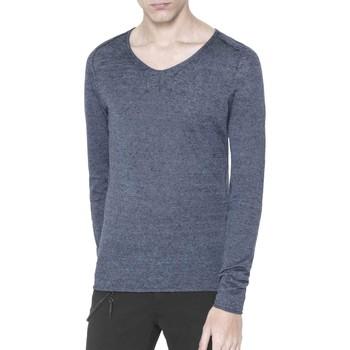 Kleidung Herren Pullover Antony Morato MMSW00639 YA500041 Blau