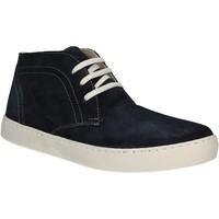 Schuhe Herren Sneaker High Café Noir XN601 Blau