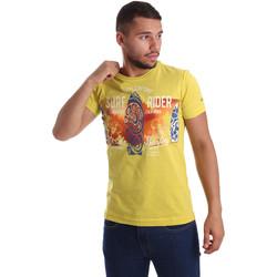Kleidung Herren T-Shirts Navigare N631017 Gelb