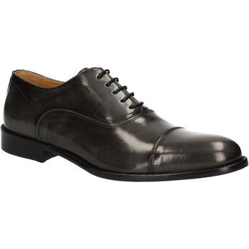 Schuhe Herren Richelieu Exton 1371 Grau
