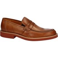 Schuhe Herren Slipper Rogers 1008B Braun