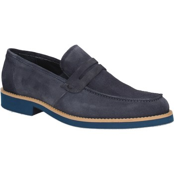Schuhe Herren Slipper Rogers 1008B Blau