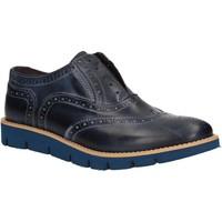 Schuhe Herren Derby-Schuhe Rogers 1480B Blau