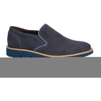 Schuhe Herren Slipper Rogers 1702B Blau
