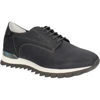 Schuhe Herren Sneaker Low Alberto Guardiani SU744559A Blau