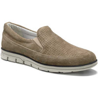 Schuhe Herren Slipper Keys 3073 Beige