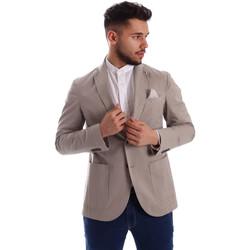 Kleidung Herren Jacken / Blazers Sei3sei PZG8 7149 Grau