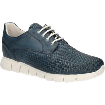 Schuhe Herren Sneaker Low Exton 338 Blau