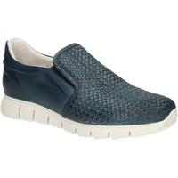 Schuhe Herren Slipper Exton 339 Blau
