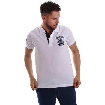 Kleidung Herren Polohemden Key Up 255QG 0001 Weiß