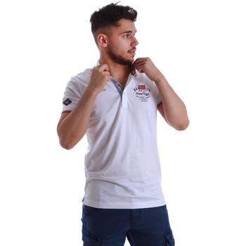 Kleidung Herren Polohemden Key Up 262RG 0001 Weiß