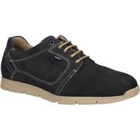 Schuhe Herren Sneaker Low Baerchi 5080 Blau