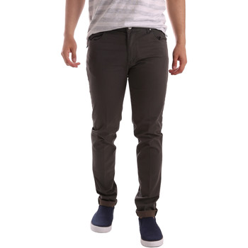 Kleidung Herren 5-Pocket-Hosen Sei3sei PZV17 71339 Braun