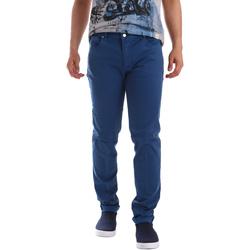 Kleidung Herren 5-Pocket-Hosen Sei3sei PZV17 71339 Blau