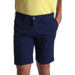 Kleidung Herren Shorts / Bermudas Sei3sei PZV132 7182 Blau