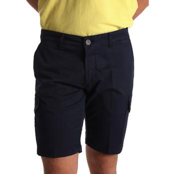 Kleidung Herren Shorts / Bermudas Sei3sei PZV130 7148 Blau