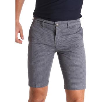 Kleidung Herren Shorts / Bermudas Sei3sei PZV132 71336 Grau